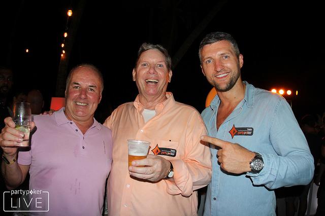 Mike Sexton na festa do jogadores do CPP