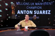 MILLIONS UK champion Anton Suarez