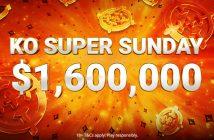$1.6M Gtd across 20 tournaments during KO Super Series