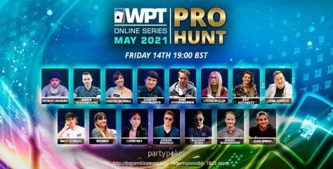 El WPT Online Series empieza con el impresionante Pro Hunt